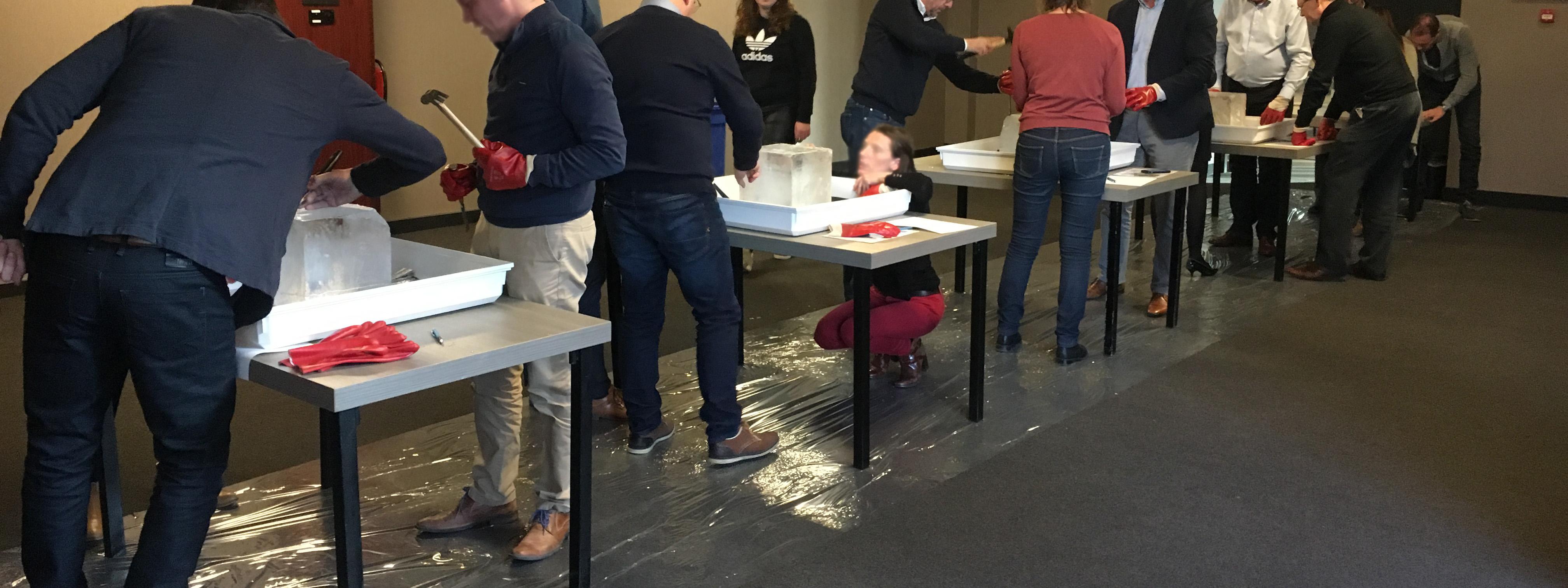 Ijssculpturen workshop breda/tilburg 1