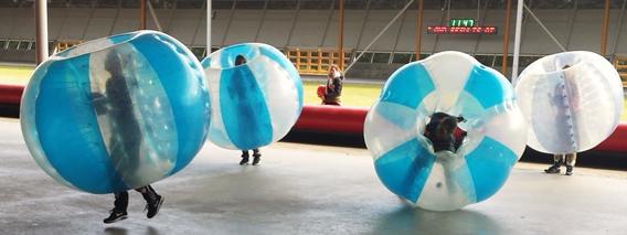 Bubble voetbal Tilburg en Breda