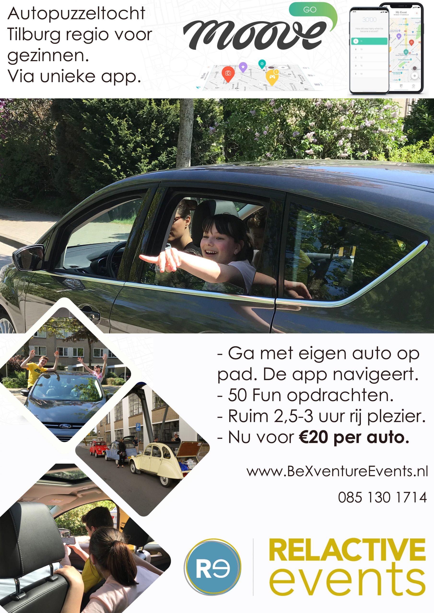 Autopuzzeltocht Tilburg